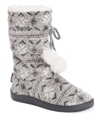 Muk Luks Gladys Faux Fur Slipper