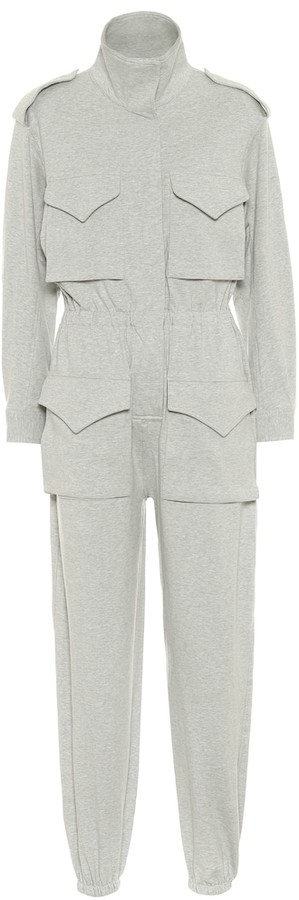 Thumbnail for your product : Norma Kamali Turtle stretch-cotton jumpsuit