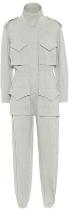 Norma Kamali Turtle stretch-cotton jumpsuit