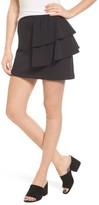 Hinge Women's Ruffle Miniskirt