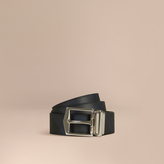 Burberry Check and Leather Reversible Belt