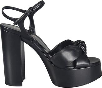 Saint Laurent High Block Heel Sandals