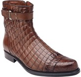 Belvedere Libero Quilted Caiman Ankle Boot (Men's)