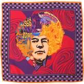 Etro Jimi Hendrix Silk Pocket Square