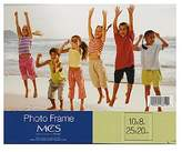 MCS Clear Acrylic Frames 8 in. x 10 in. single horizontal [PACK OF 3 ]