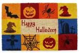 "J&M Home Fashions ""Happy Halloween"" 18-Inch x 30-Inch Coco Door Mat"