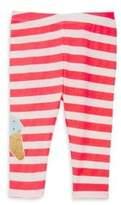 Billieblush Baby's & Toddler's Ice Cream Graphic Stripe-Print Leggings