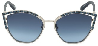 Swarovski 58MM Cat Eye Crystal Sunglasses
