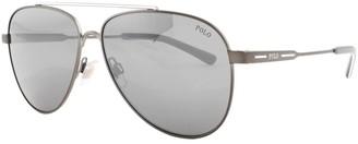 Ralph Lauren Polo Player Sunglasses Grey
