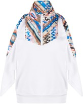 Emilio Pucci abstract print panel sweatshirt