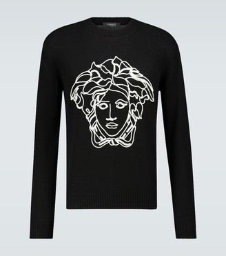 Versace Logo knitted sweater