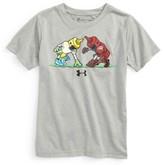 Under Armour Toddler Boy's Mustard Vs Ketchup Heatgear T-Shirt