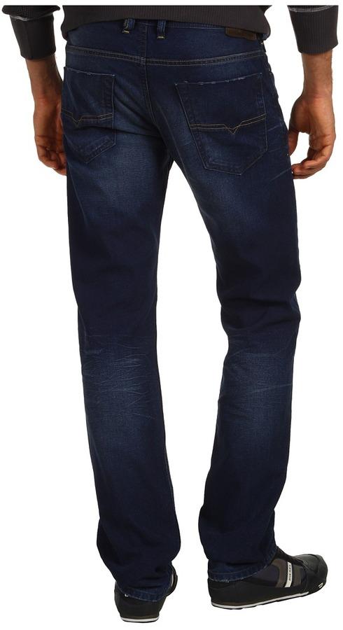 Diesel Koolter L.32 Trousers 0802F (Dark Indigo) - Apparel