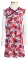 Tea Collection Girl's Nara Wrap Neck Dress