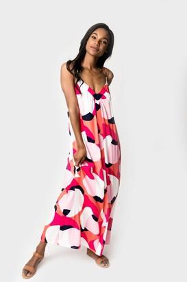 Gibson Cabana Strappy Maxi Dress