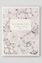 American Eagle Outfitters Chronicle Books Floribunda Coloring Book