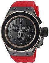 Swiss Legend Men's 'Trimix Diver' Swiss Quartz Stainless Steel Casual Watch (Model: 13845-BB-01-RDS-RB)