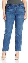 Lee Women's Plus-Size Relaxed Fit Straight-Leg Jean