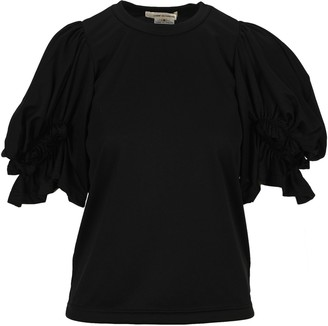 Comme des Garcons Ruffled Sleeves T-Shirt