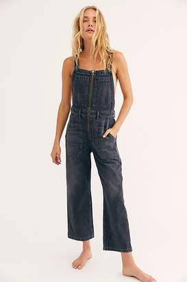 Free People Cher Zip Front Dungaree