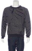 Christopher Kane Printed Crew Neck Sweatshirt