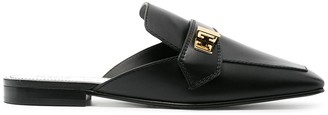 Givenchy Eden square-toe mules