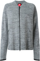 Nike technical knit jacket - women - Cotton/Nylon - XS