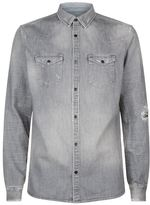AllSaints Gikeoa Denim Shirt