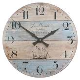 Lascelles Coastal Stripe Wall Clock