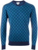 Brioni geometric pattern sweatshirt