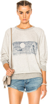 The Great Whale Graphic College Sweatshirt