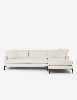 Lulu & Georgia Allisen Right-Facing Sectional Sofa, Sand