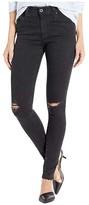 AG Adriano Goldschmied Farrah Skinny in Altered Black Destructed (Altered Black Destructed) Women's Jeans