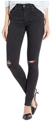 AG Jeans Farrah Skinny in Altered Black Destructed (Altered Black Destructed) Women's Jeans