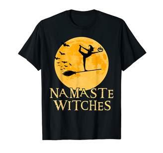 Namaste Zum2 Halloween Yoga Witches Shirt - Dancer Pose - Halloween Yoga T-shirt T-Shirt