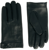 Selected Cody Leather Gloves - Black