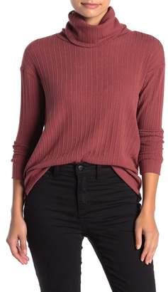 Susina Ribbed Knit Cowl Neck Sweater (Regular & Petite)