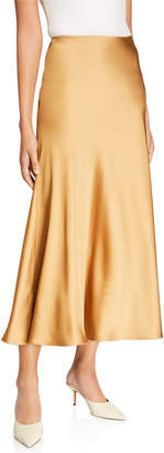 Club Monaco Long Bias Slip Skirt