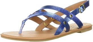 Qupid Women's Thong Sandal Flat