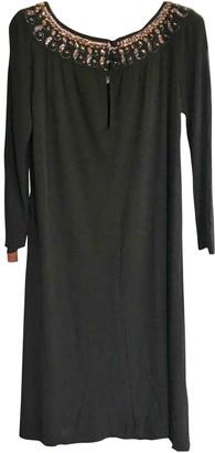 Ted Lapidus Black Silk Dress for Women Vintage