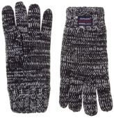 Superdry New Mens Blue Super Twist Cable Cotton/Acrylic Gloves