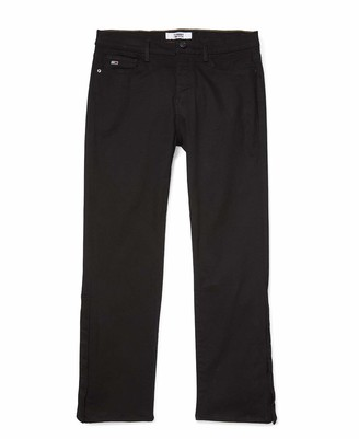 Tommy Hilfiger Men's Adaptive Relaxed Fit Jean with Velcro Brand Closure and Fly