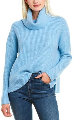 Forte Cashmere Textured Cashmere Sweater