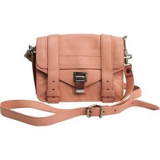 Proenza Schouler Pink Leather Handbags