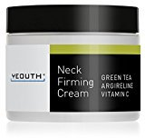 YEOUTH Neck Cream for Firming, Anti Aging Wrinkle Cream Moisturizer, Skin Tightening, Helps Double Chin, Turkey Neck Tightener, Repair Crepe Skin with Green Tea, Argireline, Vitamin C - GUARANTEED