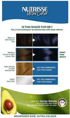Garnier Nutrisse Ultra Colour Permanent Hair Dye - 3.10 Midnight Blue 160ml