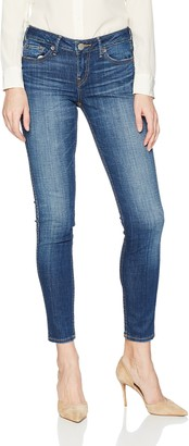 True Religion Women's Halle Mid Rise Skinny Jean