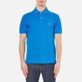 Lacoste Men's Short Sleeve Pique Polo Shirt Loire Blue