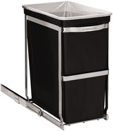 Simplehuman Under Counter Pull-out Can - Black - 30 litre