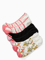 Kate Spade Mini bloom 3 pack liner sock set